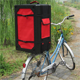 PK-44B:Western Food Delivery Bag/Backpack or on Bike, Food Delivery Box With Divider for Scooter