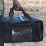 "PK-29V:12 Inch Pizza Delivery Bag, Food Take Out Carry Bag, Smart Catering Delivery Bag, 15"" L x 14"" W x 7"" H"